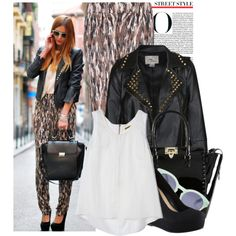 Blogger Style: Andrea Gomez - Polyvore by prettyorchid22