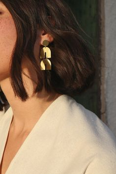 Cosmic Ray Earrings
