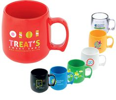 Promotional mug ideas for your office - make them personalised with your logo and name...