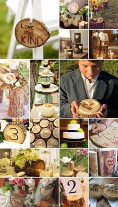 Wedding Logs and there many uses