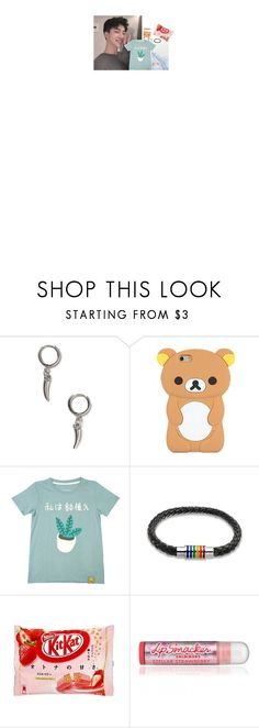 """""""- & LATE OOTD"""" by t-inkerbell ❤ liked on Polyvore featuring GET LOST, Topman, CO and Bling Jewelry"""