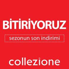 İzmir Park'ta sezonun son indirimiyle herkesi Collezione'a bekliyoruz. Bu kış bitmeden indirimi kaçırmayın...