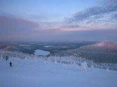 Ruka Ski Resort, Finland. During the polar night | Ruka hiihtokeskus Kaamos, Suomi. I love RUKA.