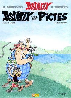 Concours de couverture Astérix chez les Pictes par Zenitram
