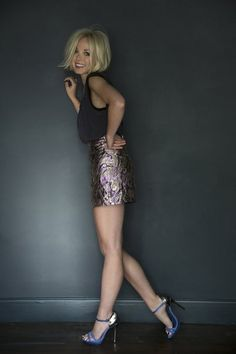Helen George. She is so cute... Love everything about her style!