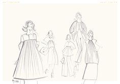 Chloe Illustration #alotlikeamy #designportfolio #fashiondesign #cad #illustration
