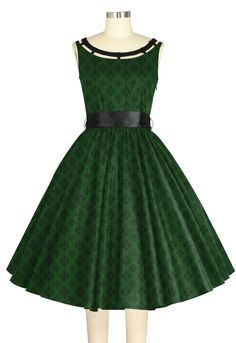 1950s Inspired dress -- ChicStar design by Amber Middaugh