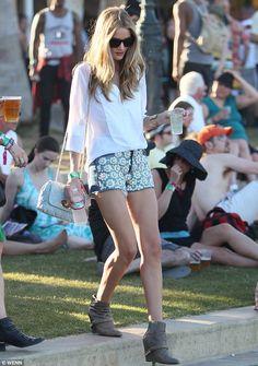 Rosie Huntington-Whiteley at Coachella.
