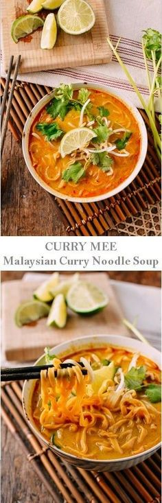 #Curry #Mee, #Malaysian #Curry #Noodle #Soup, recipe by the Woks of Life