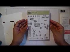 Stampin Up Painted Petals Tutorial - YouTube