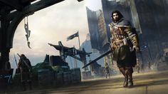 New Middle-Earth: Shadow of Mordor screenshot shows Talion's Character Model