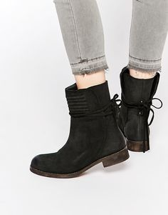Free People Cambridge Suede Wrap Boots $300
