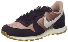 Nike Damen Internationalist Sneaker, Mehrfarbig (Particle Pink/Light Bone-Port Wine-Gum Medium), 40.5 EU: Amazon.de: Schuhe & Handtaschen