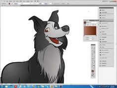 Creating a cartoon dog character in Sketchbook Pro and Adobe Illustrator Cartoon Dog, Cartoon Characters, Fictional Characters, Character Base, Character Design, Create A Cartoon, Sketchbook Pro, Illustration Techniques, Photoshop Tips