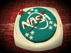 Birthday cake of a Turkish Space Lover (Emrah Ozturk) @NASA @SpaceX @ISS