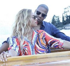 Beyonce and Jay Z shared an intimate moment on a boat in this European vacation snapshot she shared on Instagram on July 29, 2016