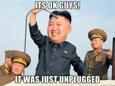 Kim Jong Un discovers North Korea's Internet was unplugged