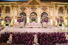Kevin and monicas wedding venue at shangri la jakarta febri and mayas wedding reception venue at hotel mulia organised by idnco decoration by lavender decoration entertainment by all star music junglespirit Image collections