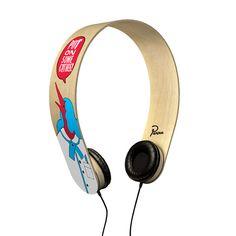 PF Headphones by Dutch artist Parra for label The Perfect Unison