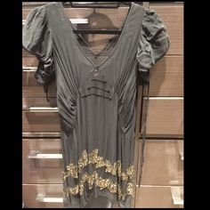 Juicy Couture Dress Never worn juicy dress. With sequin details. Size: 0 Juicy Couture Dresses
