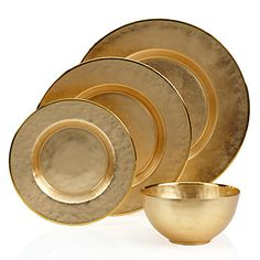 Introducing #ZGallerie's favorite Paramount Dinnerware in a new gold marbleized color. $51.80 - $79.80 per set