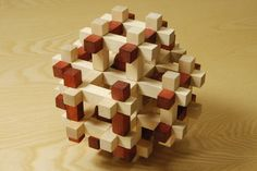 Wooden Puzzles make wonderful and unusual gifts for children or adults. http://www.workshopheaven.com/tools/Wooden_Puzzle_Imprisoned_Spheres.html