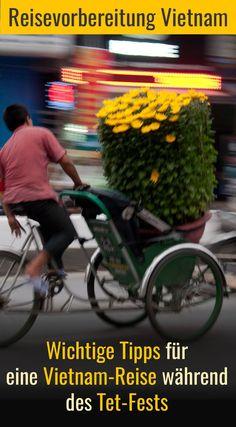 Du möchtest zum Tet-Fest durch Vietnam reisen? Dabei gibt es einiges zu beachten. Hier findest Du wichtige Tipps für Deine Reiseplanung. Travel, Highlights, Lovers, Running Away, Adventure Travel, Central America, Summer Vacations, North America, Singapore