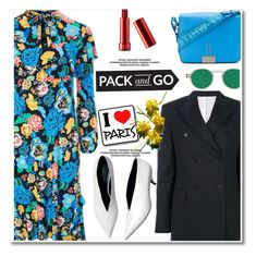 """""""Pack and Go: Paris Fashion Week"""" by paculi ❤ liked on Polyvore featuring Calvin Klein 205W39NYC, Topshop, Off-White, parisfashionweek and Packandgo"""