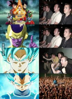 Finally, Vegeta became God. Honestly, I haven't watched this but will watch this on Thanksgiving Day.