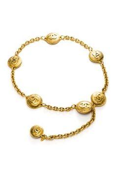 Chanel Metal Chain Belt