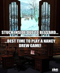 Nancy Drew meme featuring Warnings at Waverly Academy. #NancyDrew #WAC #Meme