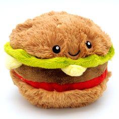 Squishable™ Mini Hamburger