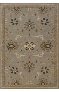 Oriental Weavers Chloe 3965A Gray Rug | Contemporary Rugs
