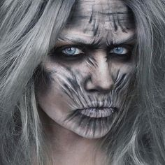 This makeup for Halloween is HOT!!! I love it.... I don't know what I will be this year  by jezra_m