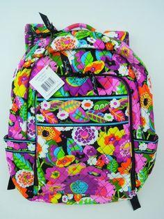 vera bradley laptop backpack #MySuiteSetupSweepstakes
