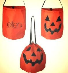 Ellen Halloween Trick or Treat Bag