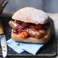 Sausage sandwiches - can't go far wrong with a sausage sandwich!