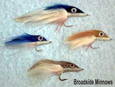 Broad Profiled Flies for Big Fish