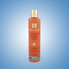 Soapless Face Peeling with Glycerin  Orange Oil & Vitamin E   Provides a gentle yet thorough cleansing to your skin without damaging its delicate external texture. Highly enriched with natural extracts, vitamins and minerals from the Dead Sea. Suitable for men and women, all skin types and especially sensitive or delicate skin.