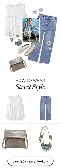 """Street  style"" by janemichaud-ipod on Polyvore featuring HOBO, MANGO, Radà, Soludos and Christian Dior"