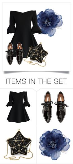 """""""Only black"""" by heyloser08 on Polyvore featuring картины"""