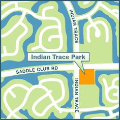 INDIAN TRACE PARK, 400 Indian Trace  (adjacent to Indian Trace Elementary School) Hours: 8 a.m. - Dusk Amenities: - 5 acre neighborhood park - Baseball field - Shaded Playground - Football / Soccer field - Basketball court - Dog Friendly park - dogs allowed on a max. 6' leash #LoveYourHome #WestonFL