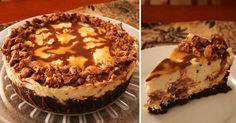 Karamelový cheesecake s příchutí tyčinek Mars dostane každého mlsouna