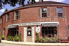 The beautiful Hickory Stick Bookshop in Washington Depot, CT