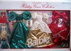 1992 Barbie Holiday Gown Collection Limited Edition No. 2188   eBay by Arcotoys A Mattel Company