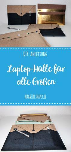 """GRATIS DIY-Anleitung: """"Ratz-Fatz""""-Laptoptasche für alle Größen"""