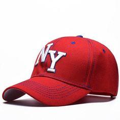 6e8aa009e504 MNKNCL 2018 New Unisex 100% Cotton Outdoor Baseball Cap NY Embroidery  Snapback Fashion Sports Hats For Men   Women Caps
