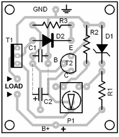 transformer less 5 volt power supply circuit project (With