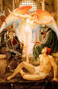 Libertad de Walter Crane, de la pintura pre-rafaelista