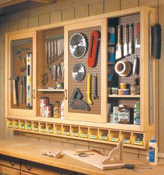 Sliding-Door Shop Cabinet